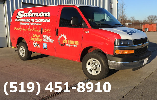 Salmon Plumbing Red Truck