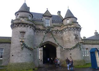 Palacio Holyroodhouse.