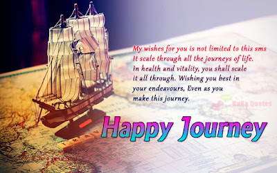Happy journey messages