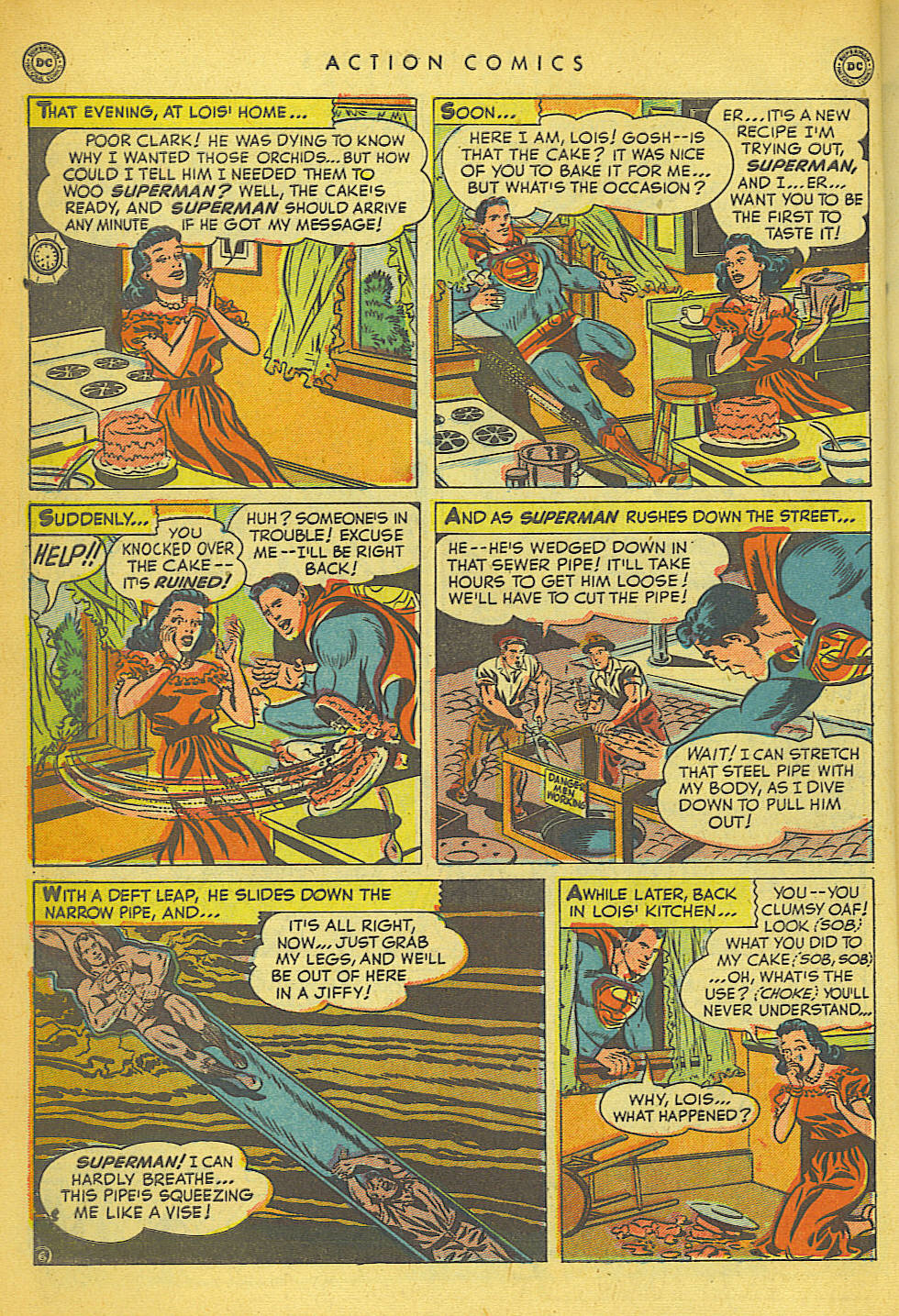 Read online Action Comics (1938) comic -  Issue #149 - 7