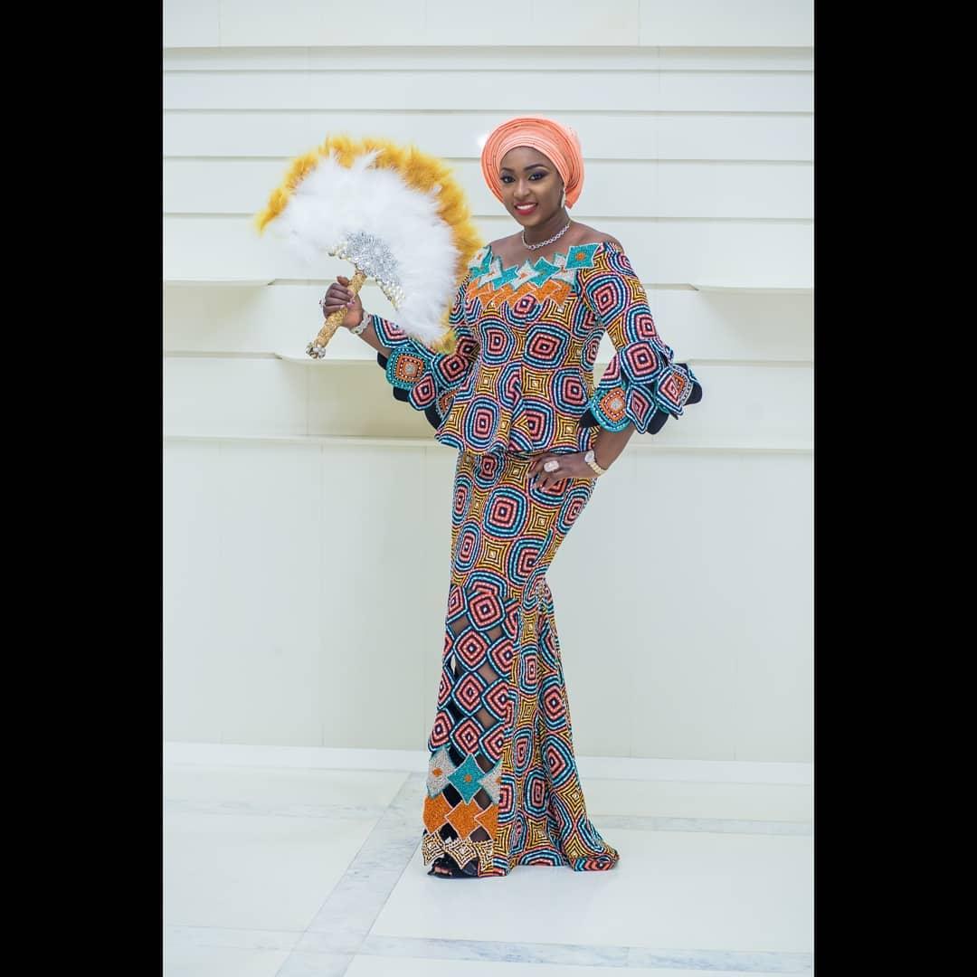 Creative And Stylish Latest Ankara Outfits For Ladies: Ankara Long ...