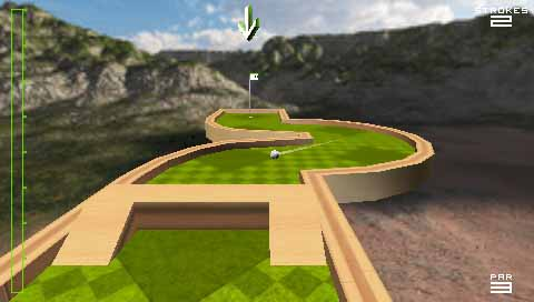 game ppsspp android ukuran kecil golf mania