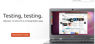ubuntu 12.04 LTS is in final beta in homepage