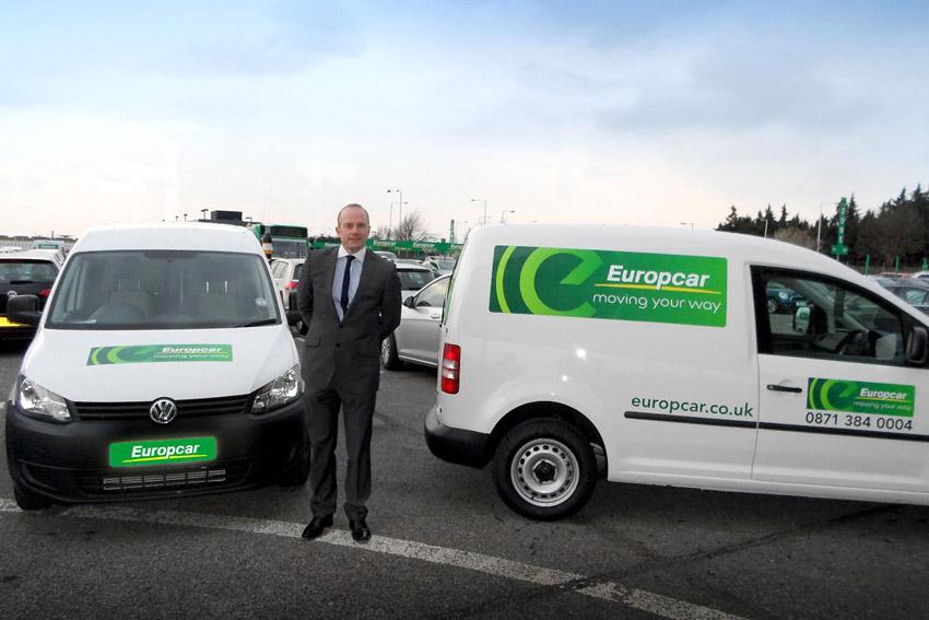 Europe Car: New Europcar Branding Hits The Road On Peugeot Vans