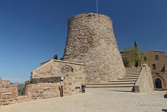 Torre de la Minyona, castillo de Cardona, Barcelona