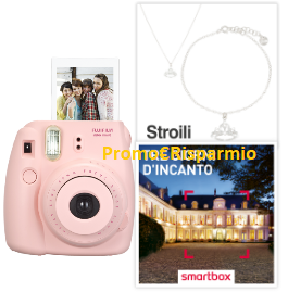 Logo Con Tu Style vinci gioielli Stroili, cofanetti Smartbox e fotocamere
