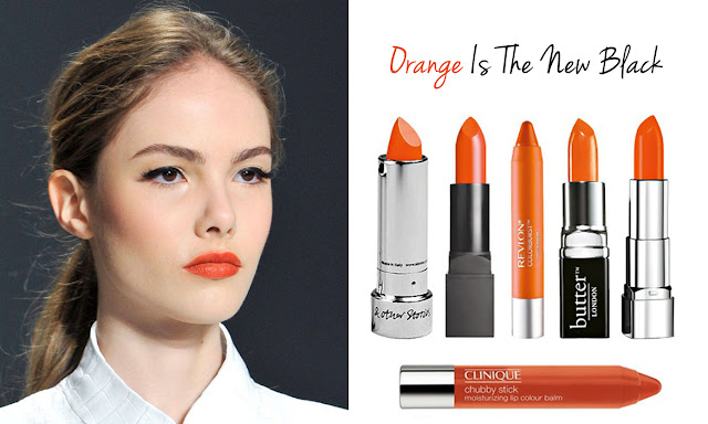 Orange Is The New Black, When It Comes To Lipcolor