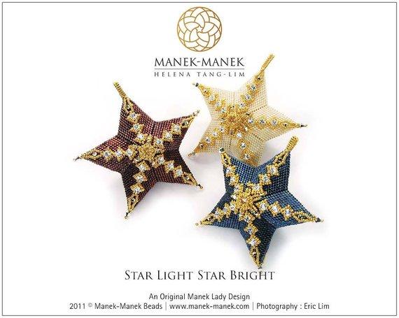 Beautiful Beaded Star Tutorial