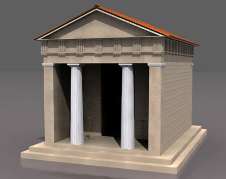 Archaic Greek temple unearhed in Phanagoria, Russia