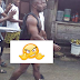 This Yahoo yahoo guy was paraded unclad with a coffin on his head for attempting to kill girlfriend for money ritual [photo]