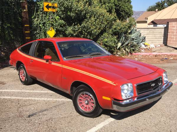 Very Original, 1980 Chevrolet MONZA