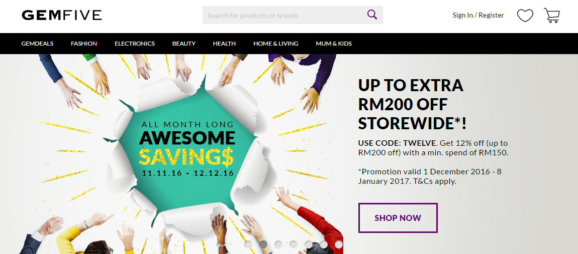 Top 10 Online Shopping Sites In Malaysia Ecinsider