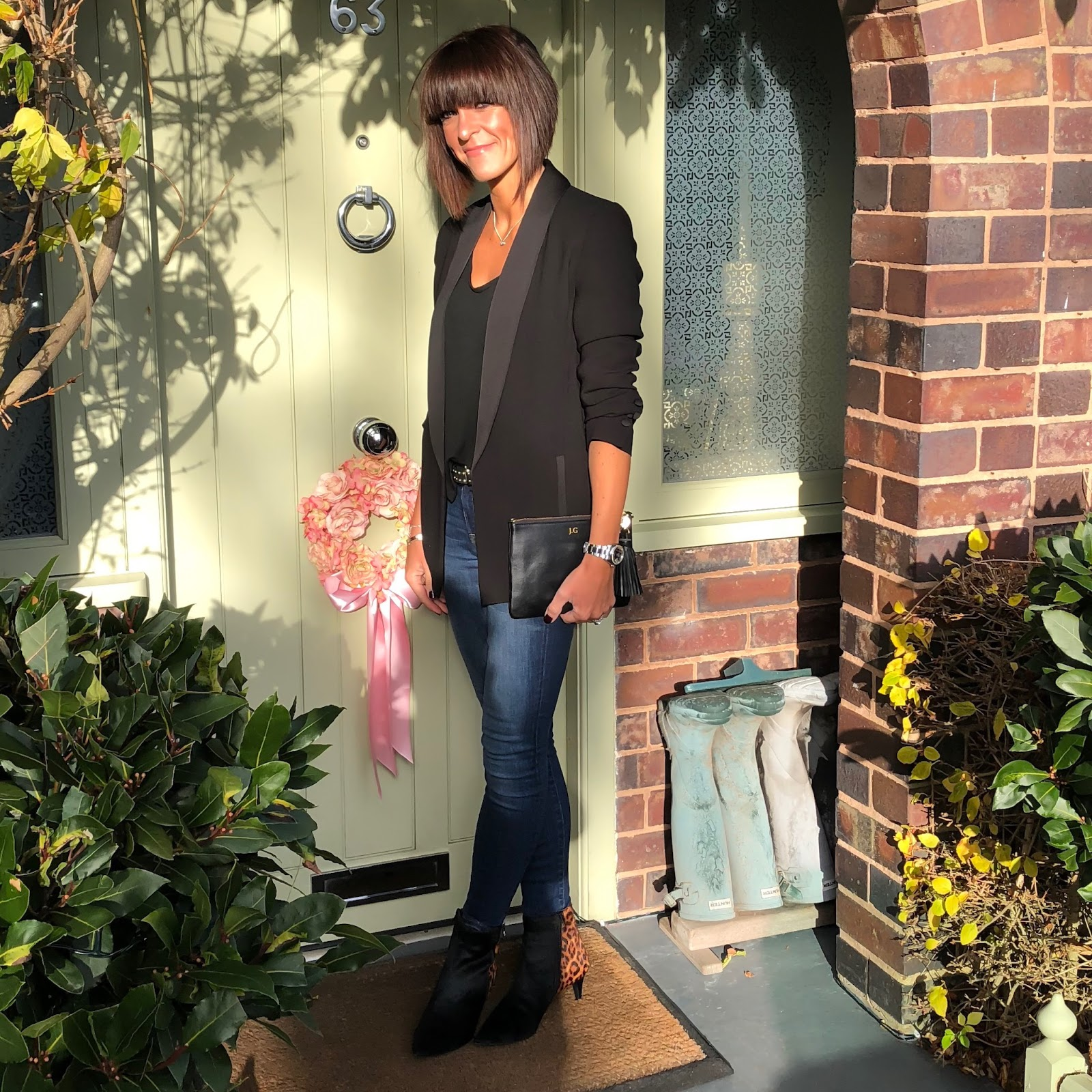 "my midlife fashion, fenn wright manson darling jacket, aurora london, spendid batwing sleeve t shirt, j crew toothpick 8"" skinny jeans, marks and spencer stiletto heel size zip ankle boots"