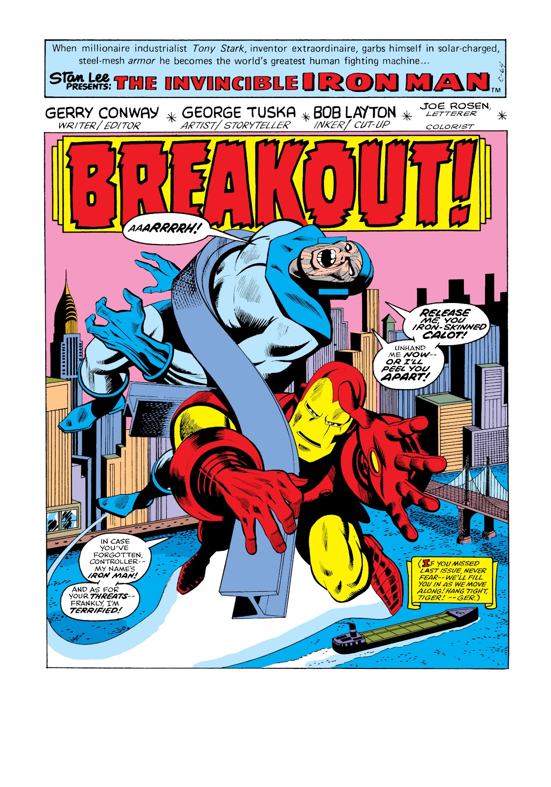 Read online Marvel Masterworks: The Invincible Iron Man comic -  Issue # TPB 11 (Part 3) - 12