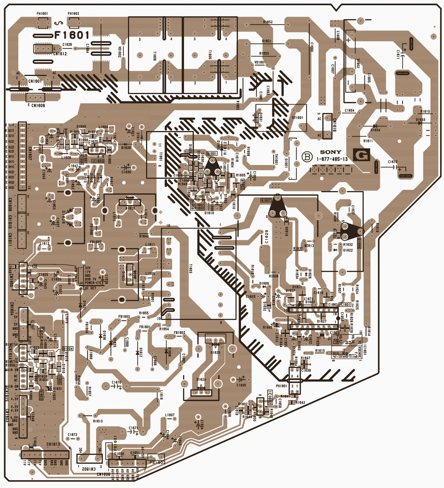 Electro help: POWER SUPPLY - G-BOARD - SCHEMATIC (Circuit ...