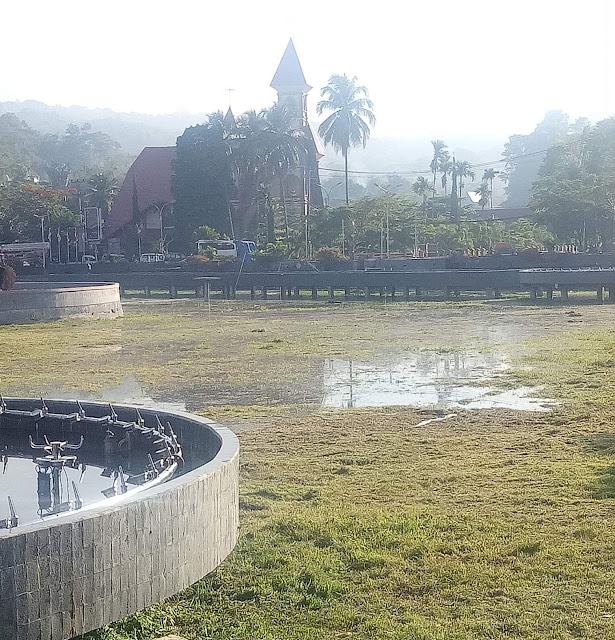 Satu Tahun Tertidur, Akhirnya Kolam Makale Mulai Diisi Air