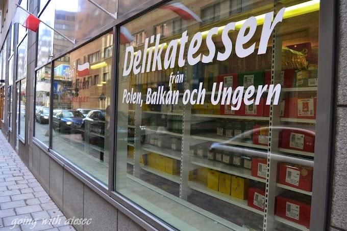 Polskie sklepy w Sztokholmie