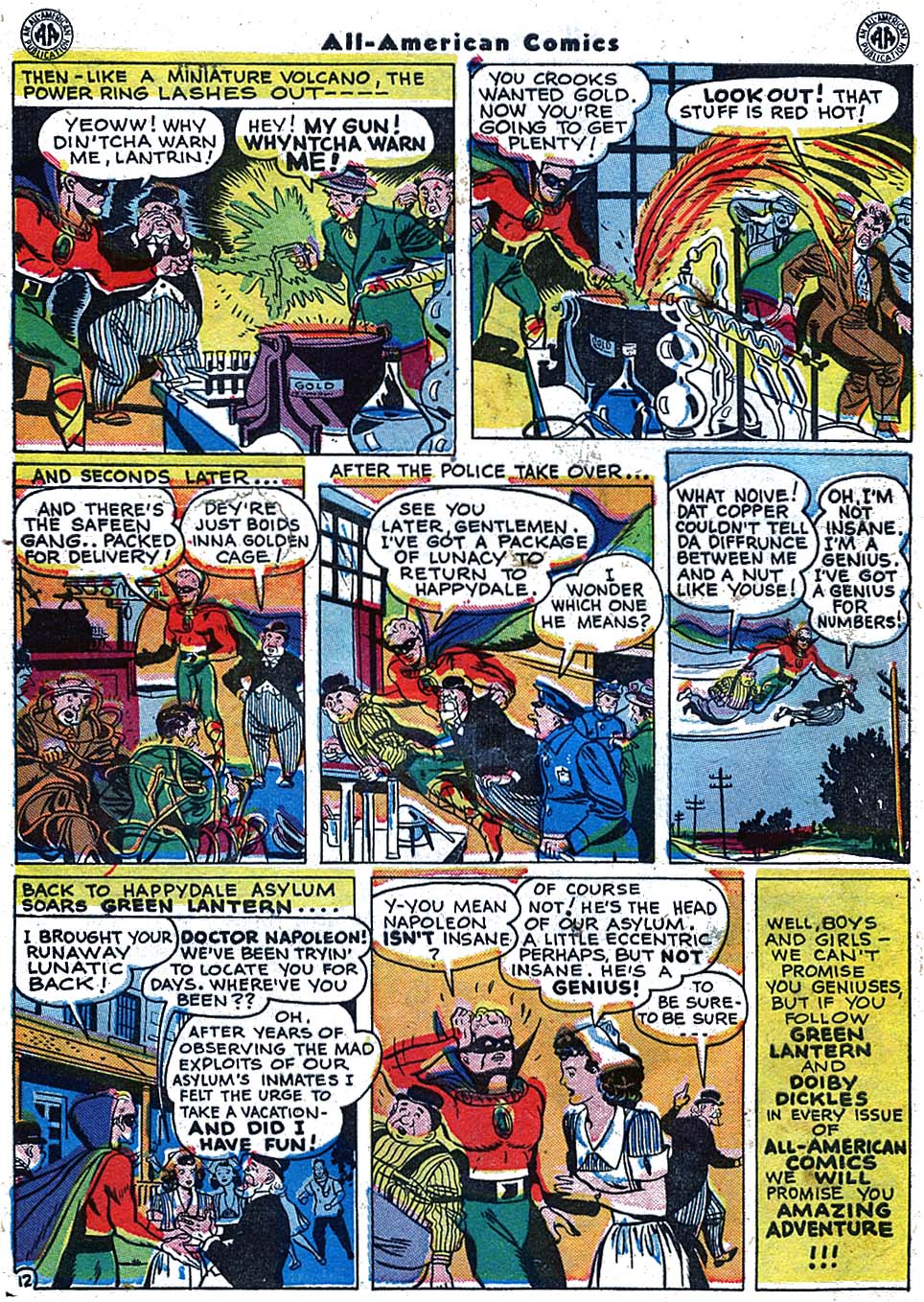 Read online All-American Comics (1939) comic -  Issue #68 - 14