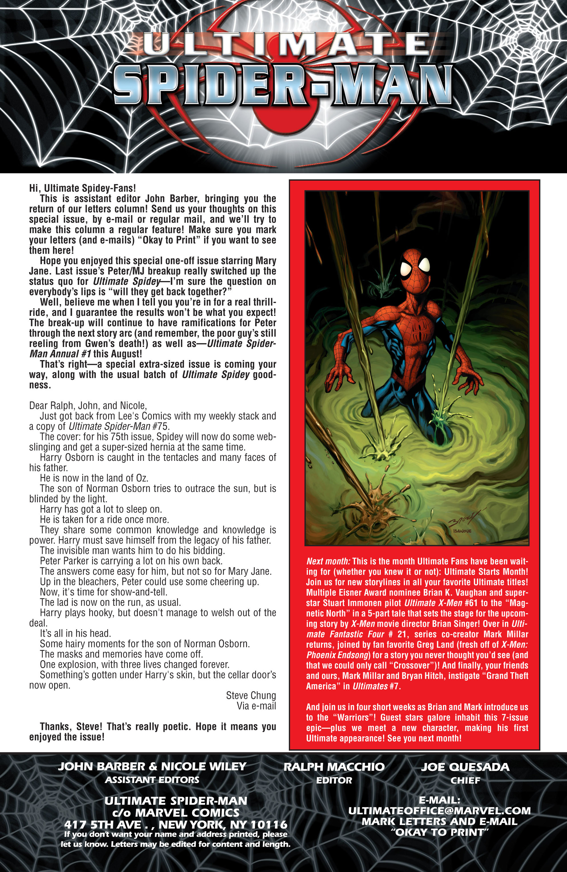 Read online Ultimate Spider-Man (2000) comic -  Issue #78 - 20