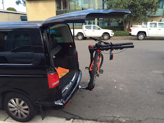 Tow Bar Bike Carrier