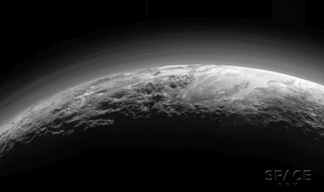Pluto's surprisingly Earth-like features