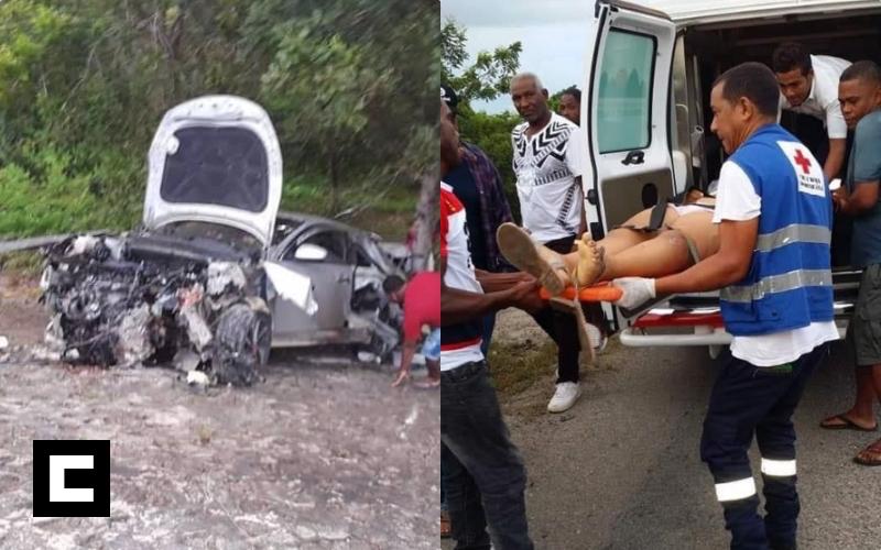 Tres muertos y dos heridos tras volcarse un carro en Arenoso