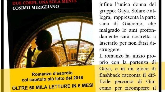 Oggi parliamo di Cosimo Mirigliano scrittore