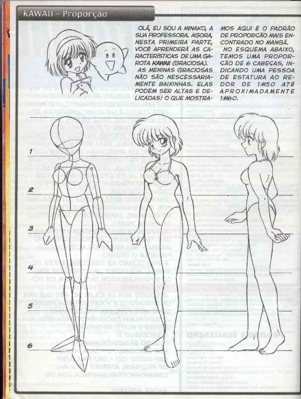 Andrea Anfrei Como Desenhar Manga Feminino
