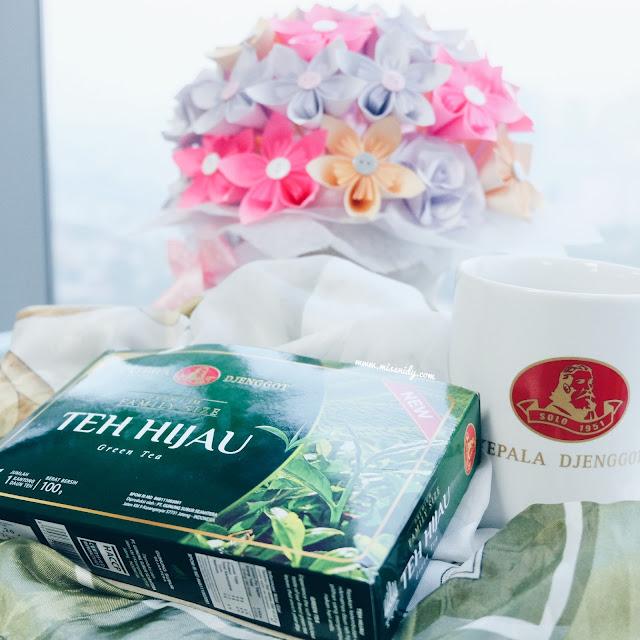 teh hijau kepala djenggot aman untuk kesehatan dan diet