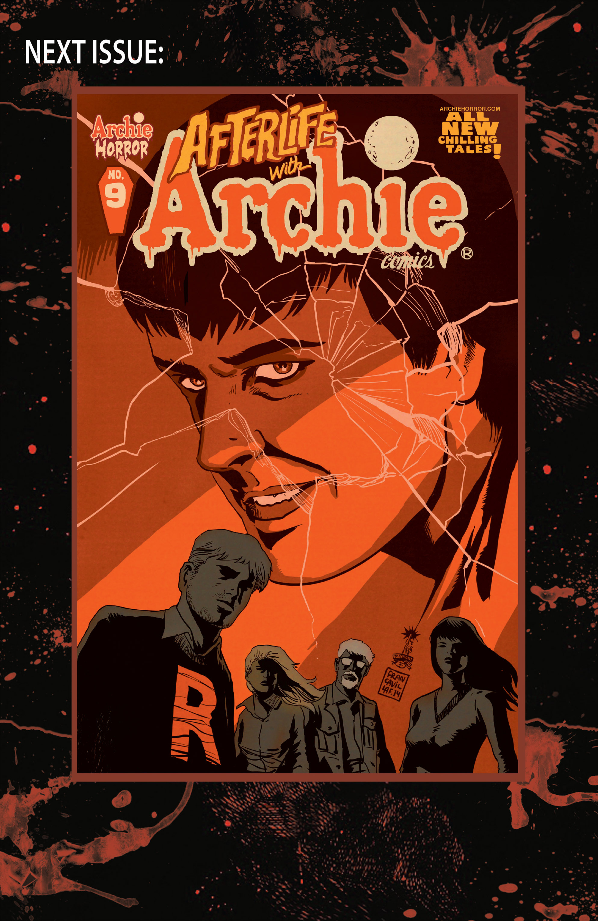 Read online Afterlife with Archie comic -  Issue #8 - 34