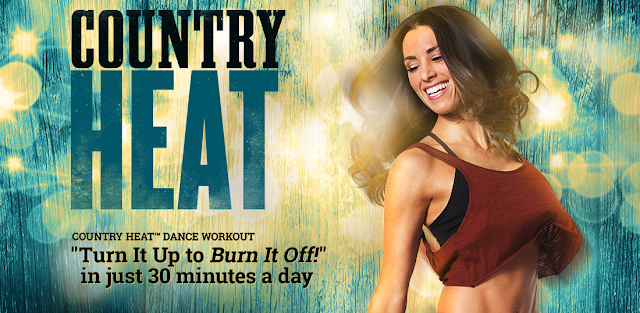 Country Heat is a new dance fitness program for country music lovers by Autumn Calabrese. THe program follows the same color coded container meal system as 21 Day Fix. For more information email Brenda Ajay brendalajay@gmail.com