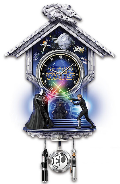 Star wars sith vs jedi wall clock with light up lightsaber duel and star wars sith vs jedi wall clock with light up lightsaber duel and theme song aloadofball Image collections