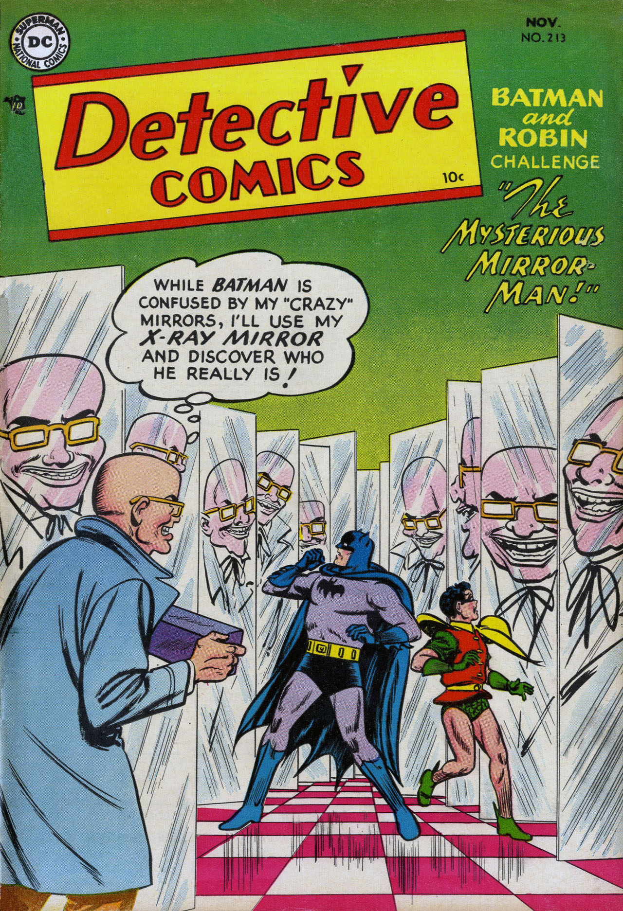 Read online Detective Comics (1937) comic -  Issue #213 - 1