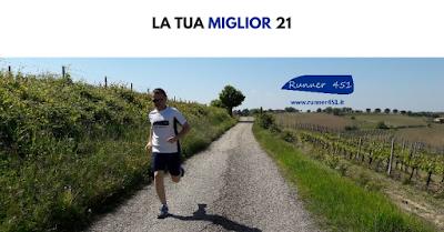 ALLENAMENTO PER I 21 KM