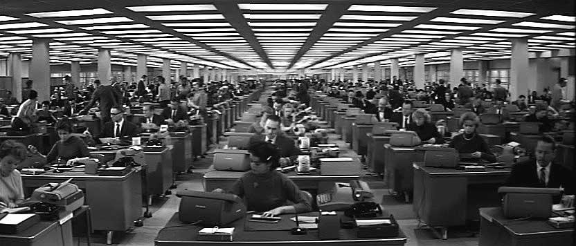 Living Stingy: 1960's Work Ethic