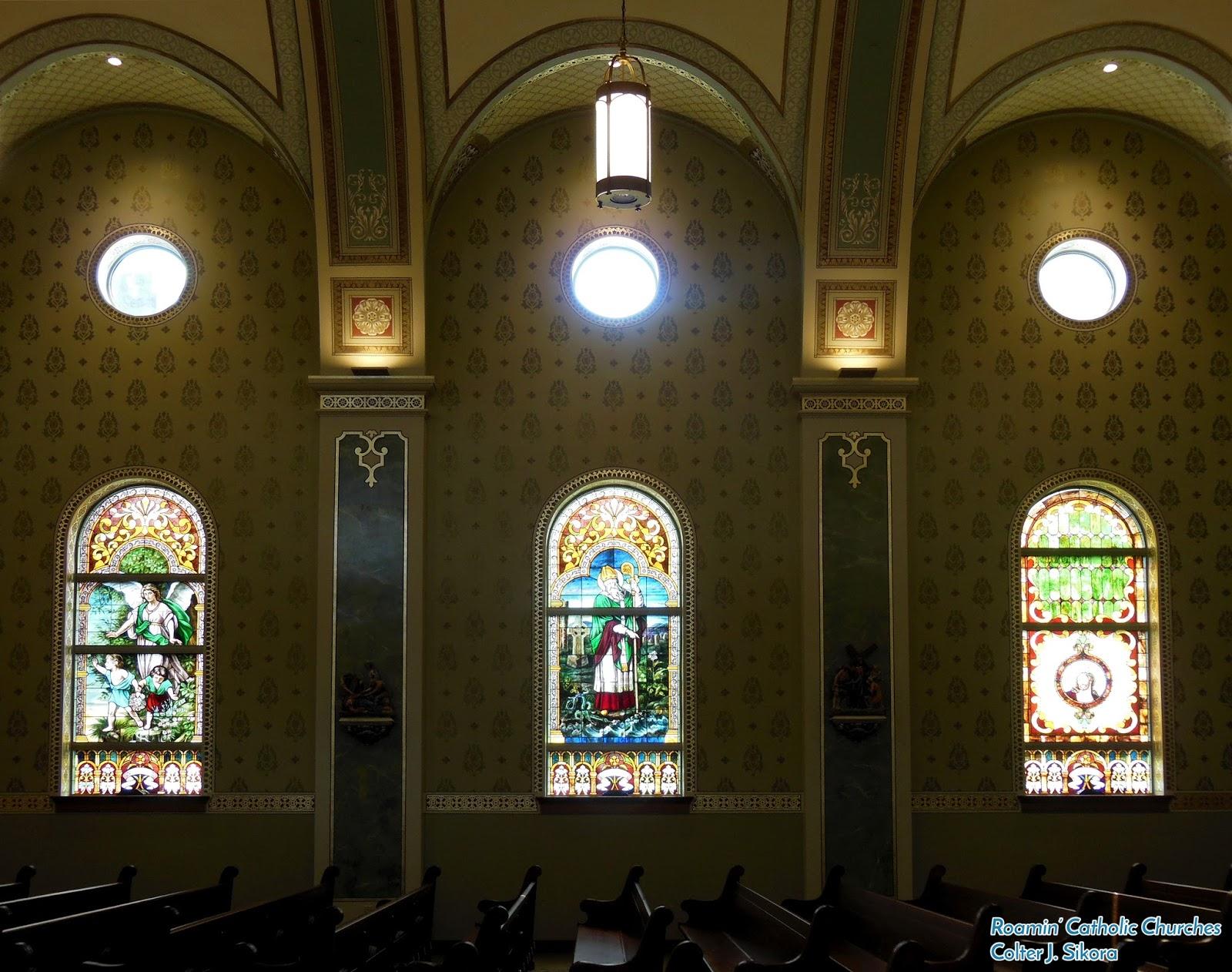 Roamin' Catholic Churches: A Look Inside the New St  Cecilia