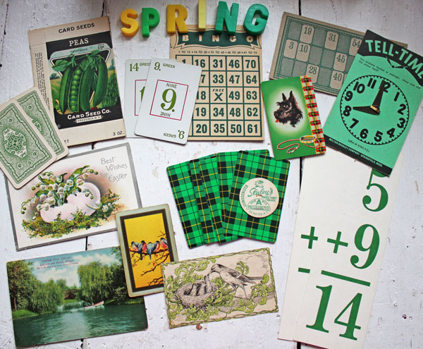 Fun Thrift Store Finds From Itsy Bits And Pieces Blog- Vintage Ephemera