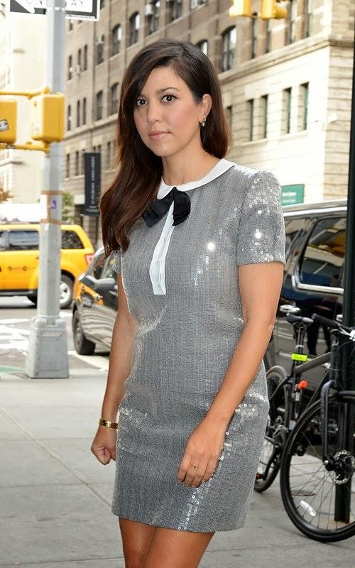 Celeb Diary: Kourtney Kardashian in New York