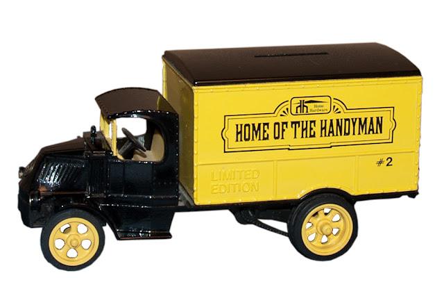 The second bank/truck issued in the collectibles, Series 1.