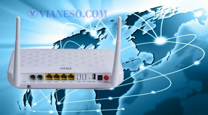 Cara Reset Wifi Modem ZTE  IndiHome
