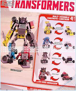 Transformers Kre-O Combiner Menasor トランスフォーマー クレオ