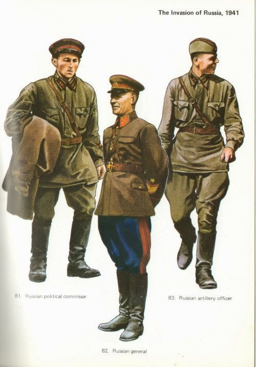 Russian Infantry Uniforms picture 1