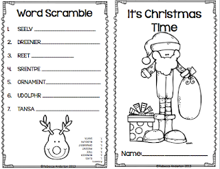 Classroom Freebies Too: Christmas Activity Book