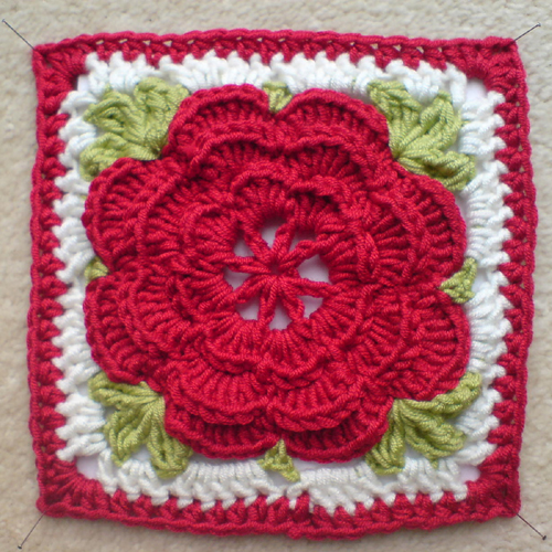 Rose Trellis - Free Pattern