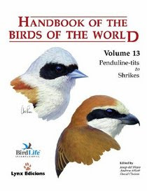 Handbook of the Bords of the World volume 13 Penduline-tits to Shrikes