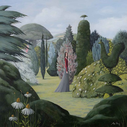 """A Quiet Place"" by Alan Parry - 2018 