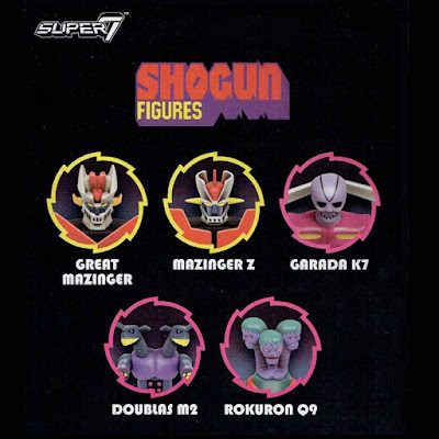 Shogun ReAction Retro Action Figures by Super7