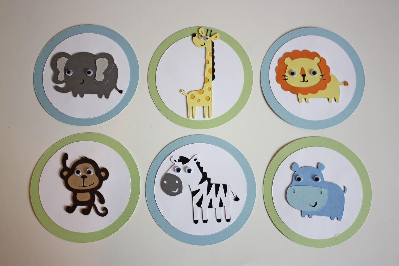 5m Creations Jungle Animal Baby Shower
