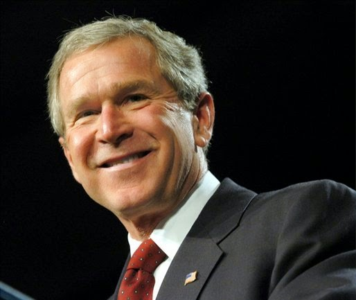 George w. Bush president of the United States of America