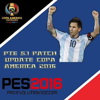 Update Copa America 2016 untuk PTE Patch 5.1